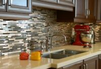 Backsplash and Floor Tile installation