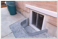 Egress window  updated to new Ontario Building Code