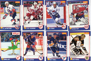 Set complet (24) Kellogg's 1991 hockey edition spéciale ROY