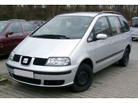 2003 SEAT ALAHAMBRA GALAXY SHARAN 7 SEATER TDI 6 SPEED NEW MOT MPV BARGAIN!!!