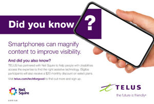 TELUS Assistive Tech For Good Is Here To Help You !!! – KAM