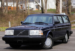 1988-Volvo-240-wagon-5-SPEED-Manual-CARFAX-SERVICED-RARE