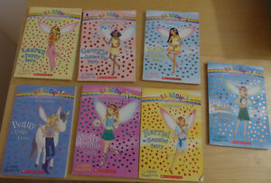 7 ($ 10) and 9 ($ 15) Rainbow Fairies paperbacks Kitchener / Waterloo Kitchener Area image 1