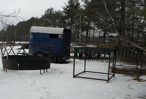 ** Large Bale Feeder and Goat feeders **