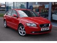 2012 VOLVO S40 DRIVe [115] SE Edition GBP0 TAX, FULL LEATHER and CRUISE