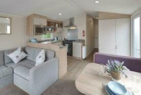 BRAND NEW STATIC IN CONWY OVERLOOKING ANGLESEY PITCHES AVAILABLE FROM £2995 PER