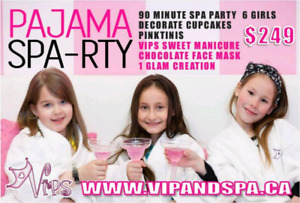 Kids Spa Birthday Parties