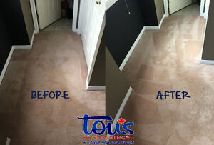 CARPET AND UPHOLSTERY CLEANING | Tous Cleaning Inc. Edmonton Edmonton Area image 2