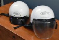 CKX VG-500 Solid Open Face Scooter/ Motorcycle Helmet(s)