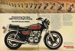 1979 Honda CB650 Parts