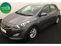 £174.33 PER MONTH GREY 2013 HYUNDAI i30 1.6 BLUEDRIVE ACTIVE 5 DR DIESEL MANUAL