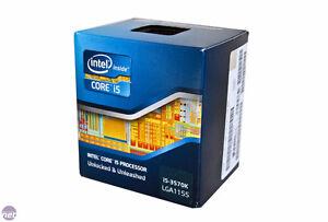 I5 3570k CPU, 16gb of RAM, ASUS Z77 Motherboard