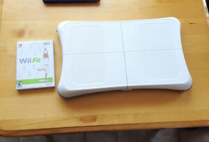 Wii Fit (Original) with Balance Board and Game