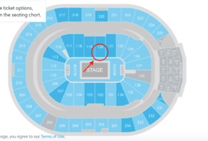 DRAKE PLATINUM seats, section 120, row 1!!!