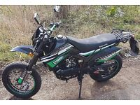Lexmoto Adrenaline 125 cc supermoto 65 plate excellent condition only 2500 miles, ready to ride away