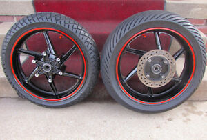 Wanted - Front & Rear 1992 CBR 600 F2 Wheels