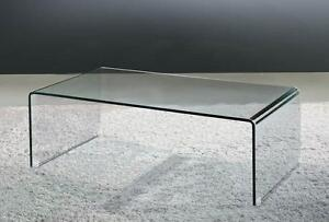 MODERN GLASS COFFEE TABLE JUST $199 WHILE QUANTITIES LAST