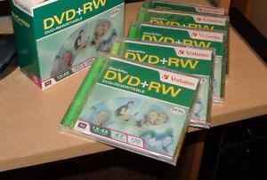 5 dvd rw never opened $3