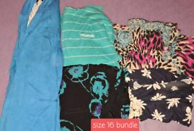 Size 16 bundle ladies clothes