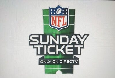 NFL Sunday Ticket MAX 2017- 18 complete season w free gift.