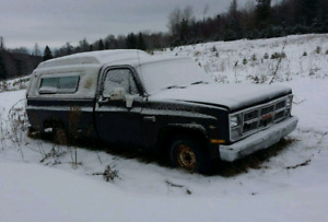 Looking for 1981-1987 Chevrolet truck parts.