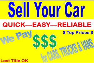 $$$$ UP TO $2500 CASH FOR CARS SCRAP JUNK CAR REMOVAL PICK UP $$