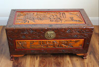JUST REDUCED Rare Carved Chest
