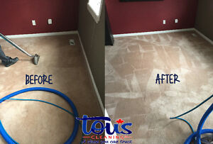 CARPET AND UPHOLSTERY CLEANING | Tous Cleaning Inc. Edmonton Edmonton Area image 1