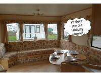 PERFECT STARTER STATIC CARAVAN FOR SALE! SITE FEES FROM ONLY £2495!!!