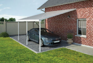 Carport with sunroof