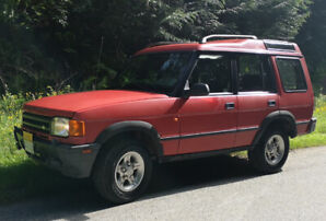1995 Land Rover Discovery - 5 Speed