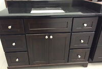 Stonewood Bath Cabinetry DEAL OF THE DAY! Vanity with FREE TOP!