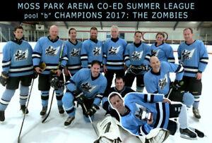 Co-ed Ice Hockey Team Sunday afternoons Toronto