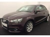 2013 RED AUDI A1 1.6 TDI SPORT DIESEL MANUAL 3DR CAR FINANCE FROM 29 P/WK