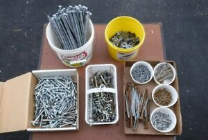 Lag Screws, Nails, Nuts & Bolts and Washers