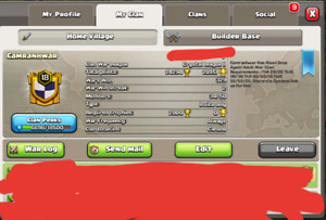 Level 18 clan for sale CLASH OF CLANS