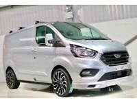 c1636159fe 2019 NEW FORD TRANSIT CUSTOM LIMITED 170PS L1H1 VAN EXTERIOR SPORT PACK  SILVER