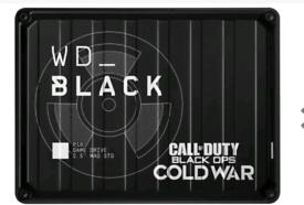 Wd black P10 call of duty 2tb hdd