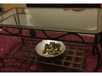 Coffee table black £30 collection only