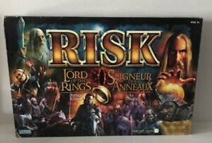 Parker Bros: Risk The Lord of The Rings Board  Game