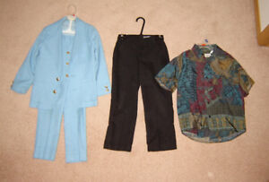 Boys Dress Wear - sizes 6, 7/8, 8, 10, 12, 14, 16, men's 14.5,15