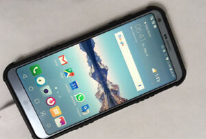 "LG G6 ThinQ    32 GB    5.7 ""display    Silver Color    GOOD"