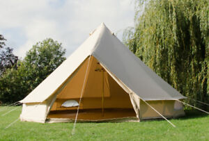 Canvas Bell Tent and wooden platform & Canvas Tents | Buy u0026 Sell Items From Clothing to Furniture and ...