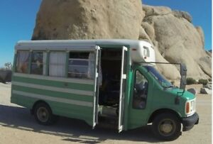 Diesel short Bus for sale! Perfect adventure mobile