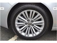 "4X 18"" GENUINE VAUXHALL INSIGNIA VX ALLOY WHEELS WITH TYRES"