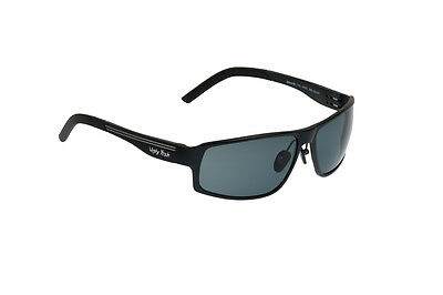 4d5b15c541 Ugly Fish Polarised Sunglasses PN24203 Avalanche Matt Black Frame Smoke Lens