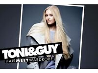FREE CUT AND DISCOUNTED COLOUR TONI AND GUY