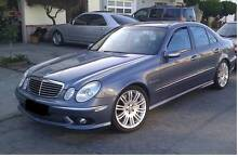 "4x GENUINE MERCEDES 18""E-class W211 Alloy Wheels 5x112 Continenta Georges Hall Bankstown Area Preview"