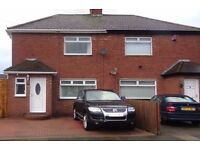 2 bed semi-detached with large drive and south facing garden