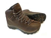 Women's leather Walking boots, Hi Gear, 'Snowdon' Size 6